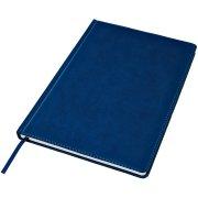 Ежедневник недатированный Bliss, А4,  темно-синий, белый блок, без обреза Синий